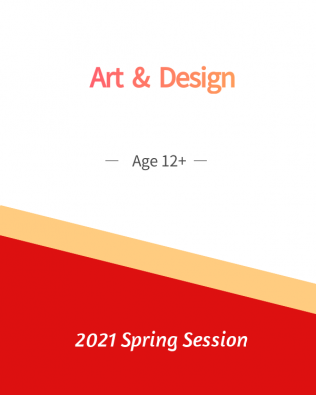 Art and Design  Age 12+  Spring Session