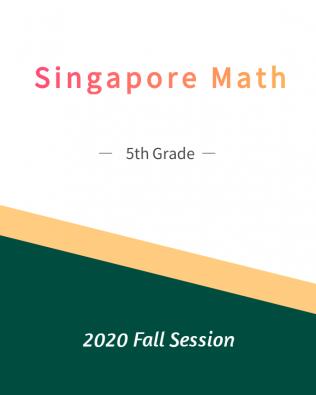 Singapore Math – 5th Grade Fall Session