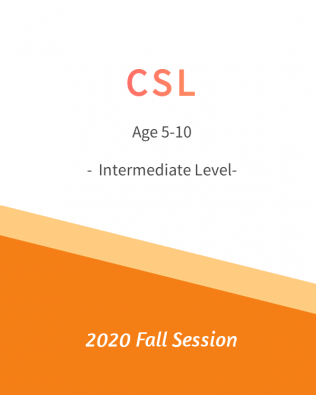 CSL – Intermediate 中级班 Fall Session