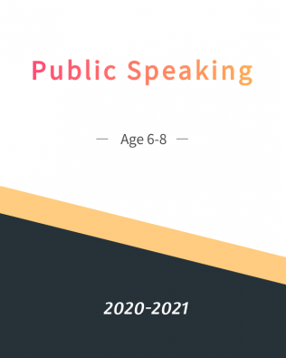 Public Speaking Age 6-8 Yearly Plan