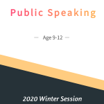 Public Speaking Age 9-12  Winter Session