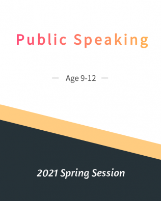 Public Speaking Age 9-12  Spring Session