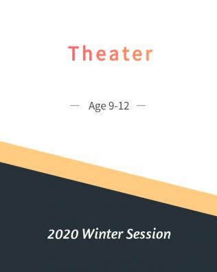 Theatre Age 9-12  Winter Session
