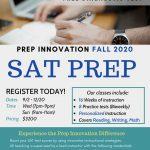 SAT PREP (Fall Session)