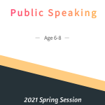 Public Speaking Age 6-8  Spring Session