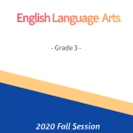 ELA G3 Fall Session