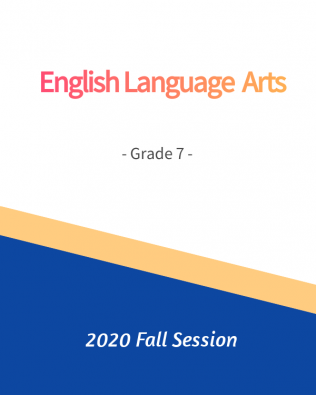 ELA G7 Fall Session