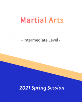Martial Arts – Intermediate Level   FREE!- Spring 2021