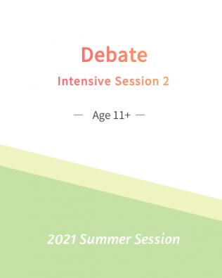 Debate – Intensive 2