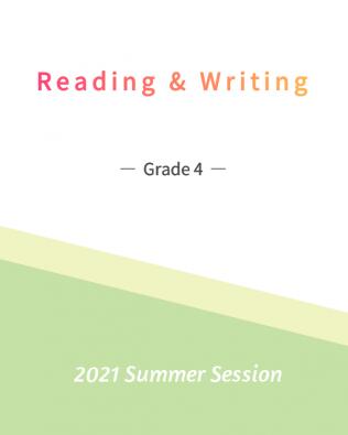 English Reading & Writing 4