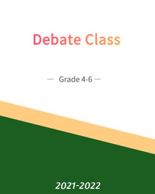 Debate (Yearly Bundle Plan) 101A-103A