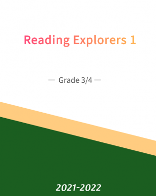 Reading Explorer 1 — Grade 3/4 (Fall)