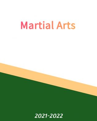 Martial Arts – Free ! – Fall 2021