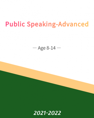 Public Speaking – Advanced Age 8-14 (Spring)