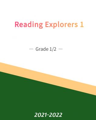 Reading Explorer 1 — Grade 1/2 (Fall)